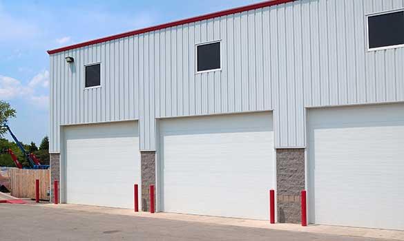 Ribbed Steel Pan Doors